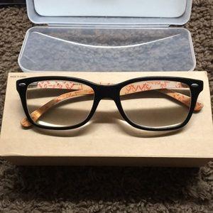 Rectangular Rayban Eyeglasses Black